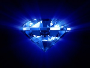 Get better in order to become the new blue shiny diamond that represents your new you