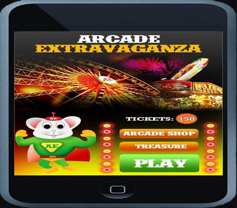 Arcade Extravaganza Main Menu
